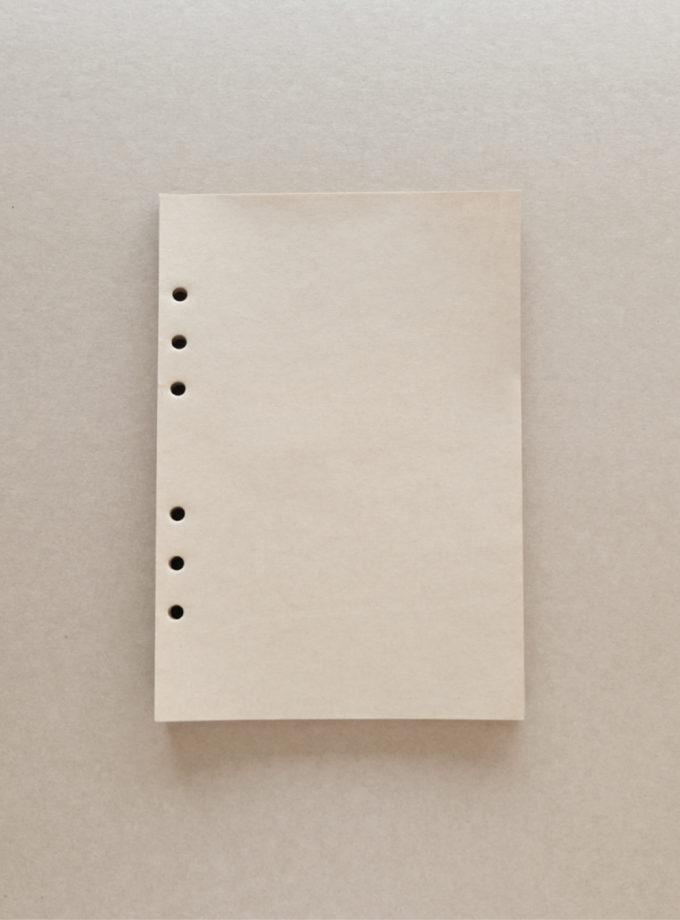 กระดาษรีฟีวสมุดบันทึก a5 กระดาษคราฟ