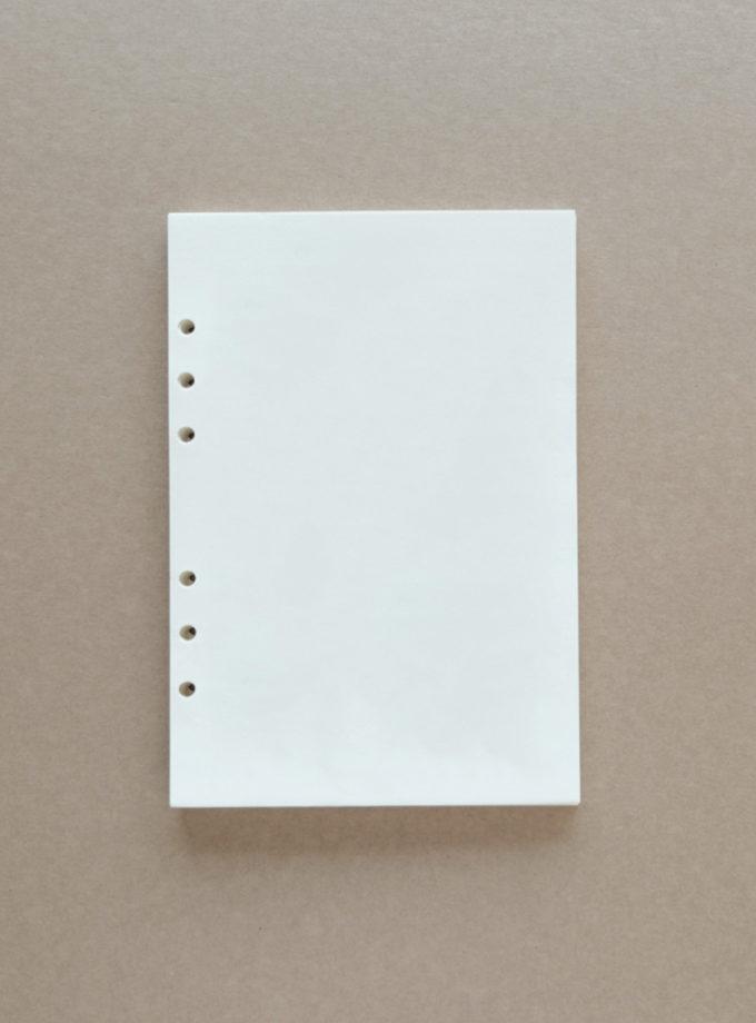 กระดาษรีฟีวสมุดบันทึก a5 ไม่มีเส้น-2