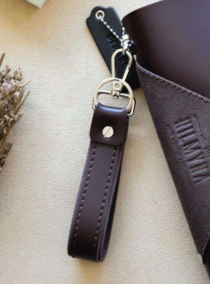 พวงกุญแจหนัง-สีน้ำตาลเข้ม-01