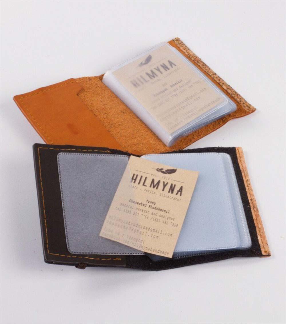 กระเป๋าใส่นามบัตรหนัง ซองนามบัตร รับผลิตสินค้าพรีเมี่ยม