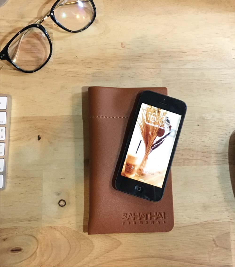 ซองหนังใส่โทรศัพท์ ซองใส่มือถือ รับผลิตสินค้าพรีเมี่ยม-สหไทย