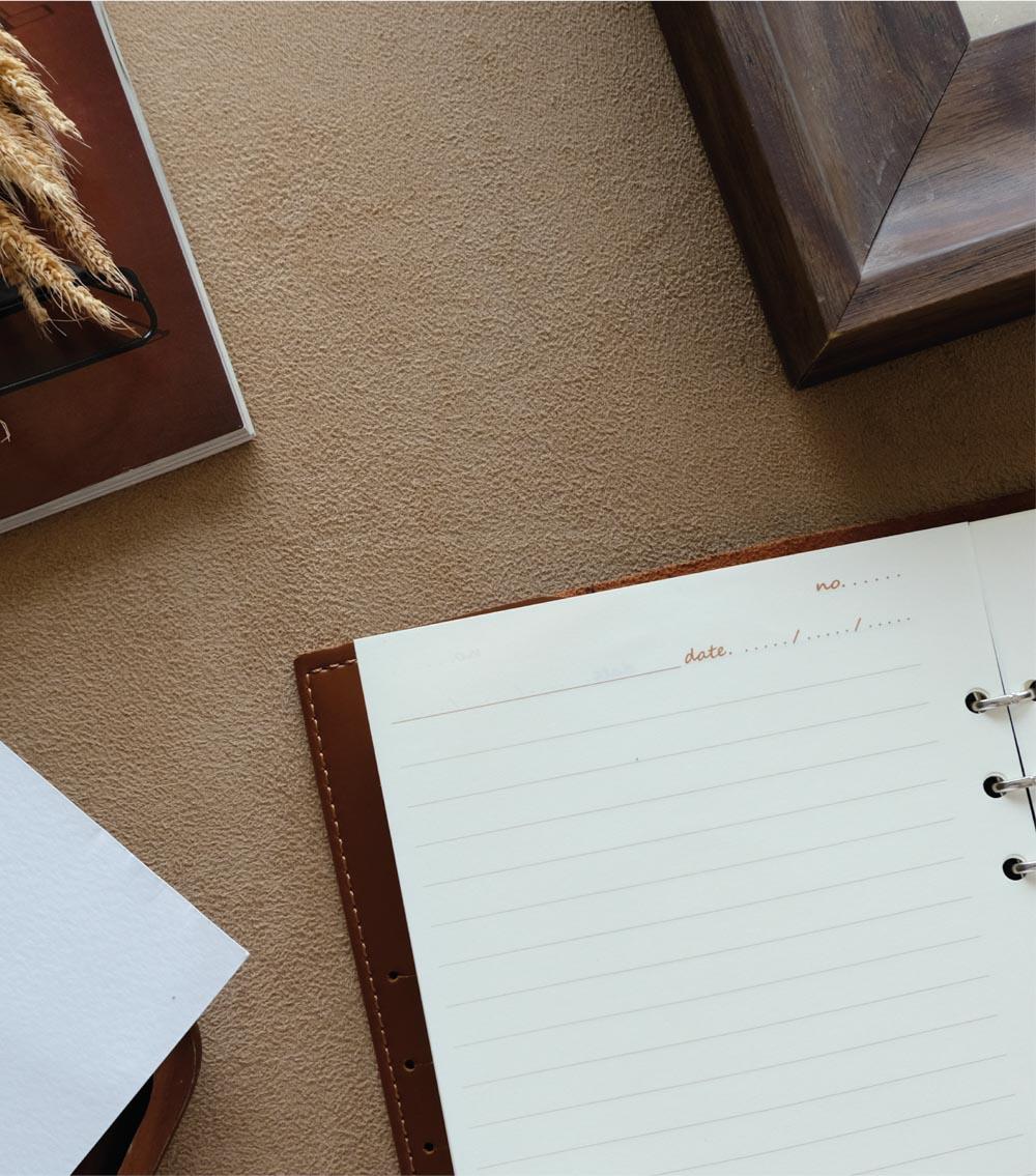 ผลิตสินค้าพรีเมี่ยม premiumgift รับทำสมุดโน๊ตปกหนัง รับผลิตสมุด-bl4 06