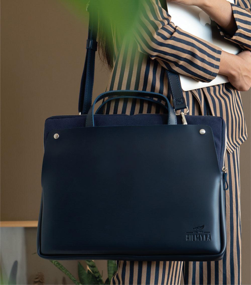 ผลิตสินค้าพรีเมี่ยม premiumgift รับผลิตกระเป๋าหนัง ผลิตเครื่องหนัง-laptopbag 01