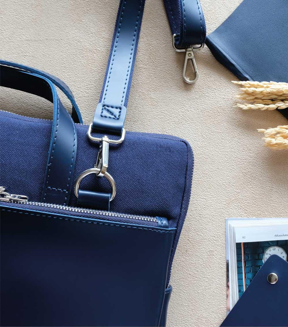 ผลิตสินค้าพรีเมี่ยม premiumgift รับผลิตกระเป๋าหนัง ผลิตเครื่องหนัง-laptopbag 04